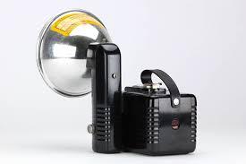 retro 1950 kodak brownie hawkeye flash camera w flashholder