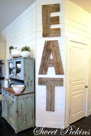 eat in kitchen decorating ideas rustic kitchen decor wooden eat sign rustic cabin kitchen decorating
