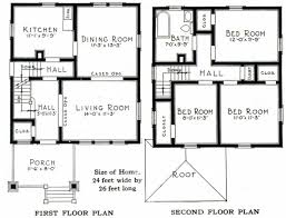four square floor plan colonial house plans american plan small southern new england 2