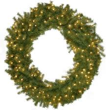 national tree company 60 in norwood fir artificial wreath with