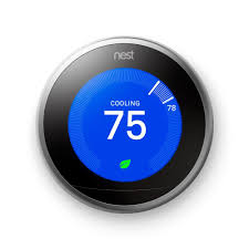 The Nest Home Decor Nest Learning Thermostat 3rd Generation T3007es The Home Depot
