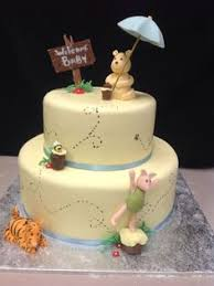winnie the pooh baby shower cake cake for a classic pooh baby shower baby showers