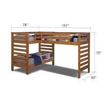 Corner Bunk Beds Corner Triple Bunk Bed With Simple Wooden Corner Bunk Beds And