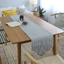 table runner or placemats modern simple grey herringbone chevron table runner or placemats