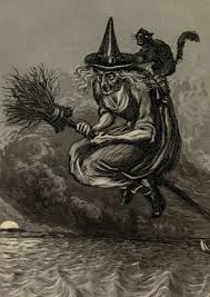 vintage halloween illustration 15th century witch halloween pinterest 15th century witches