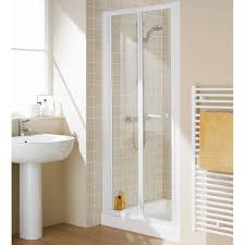 900mm Shower Door Lakes Bathrooms Classic White 900mm Bi Fold Shower Door Lkvb090 30