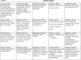 colombia libro de lectura grado 6 excelentes calendarios matemáticos de primer a sexto grado de