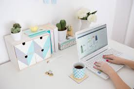 Your Desk Try This Ikea Hack To Freshen Up Your Desk Brit Co