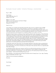 Resume Sample Interior Designer by Interior Design Resume Cover Letter Free Resume Example And