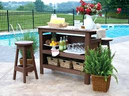 patio furniture bar table gardens outdoor bar set with backless bar
