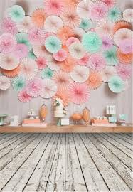 photo backdrop paper digital printed paper flowers wall photography backdrop for