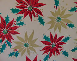 beautiful christmas wrapping paper gift wrap paper etsy