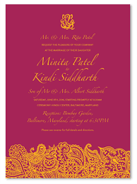100 Hindu Wedding Invitations Your Indian Wedding Cards On 100 Recycled Paper Bombay By Foreverfiances