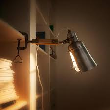clip on bed light clip on light lights industrial and room