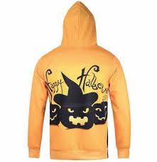 funny scarecrow pumpkin hoodie halloween sweatshirt with hood for