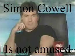 Simon Cowell Meme - simon cowell meme memes quickmeme