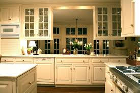 Kitchen Cabinet Glass Door Kitchen Classic Kitchen Cabinet With Glass Door And Tiny Shade