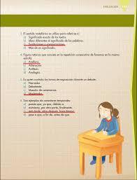 examen de 5 grado con respuestas ayuda para tu tarea de quinto español bloque 4 evaluación del bloque iv