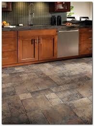 Kitchen Tile Flooring Ideas Installing Laminate Tile Flooring Diy Inside Kitchen