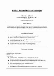 dental resume template 12 fresh dental assistant resume templates resume sle