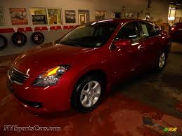 nissan maxima hybrid for sale 2009 nissan altima hybrid in red brick metallic 183457