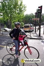 vélo avec siège bébé les articles de vélotaf essai weeride siège enfant sur le cadre