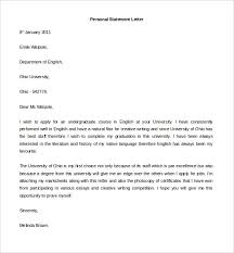 personal letter template 40 free sample example format free