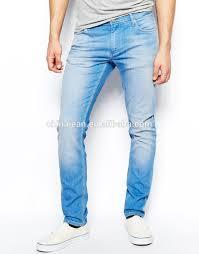 mens light blue jeans skinny 2015 oem comfortable blue slim wash new style fashion men jeans