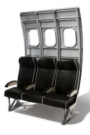 Airline Glass And Upholstery Aircraft Furniture From Airline Seating Aircraft Recycled Into