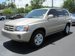 used 2005 toyota highlander base daytona beach fl ritchey