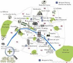 Map Of Tour De France by Paris Top Tourist Attractions Map Visitor Points Of Interest