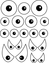 printable scary halloween eyes u2013 festival collections