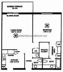 1 Bedroom 1 1 2 Bath House Plans Boca Raton Apartment Rental Br171 1 Bedroom Floor Plans