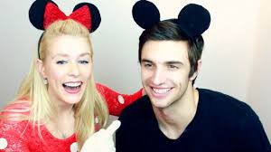 how to diy mickey mouse u0026 minnie mouse halloween costume youtube