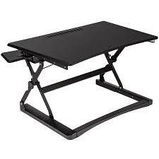 Schreibtisch Mit Aufsatz Buche Sitz Steh Schreibtisch Aufsatz Höhenverstellbar Ergonomisch Groß