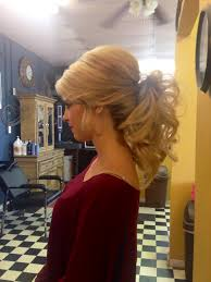 pageant style curling long hair prom pageant homecoming or wedding formal updo ponytail too cute