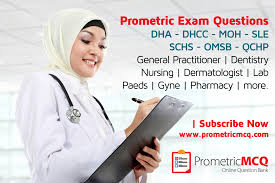 prometric exam mcqs for dha dhcc moh schs sle omsb qchp