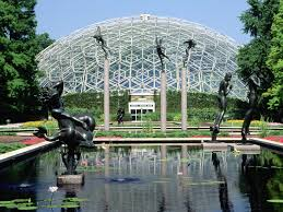 climatron botanical gardens st louis missouri this glasshouse