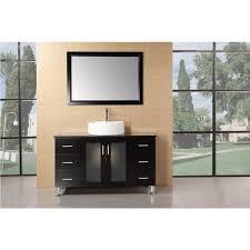 design element bathroom vanities design element dec066c e malibu 48 inch single sink modern