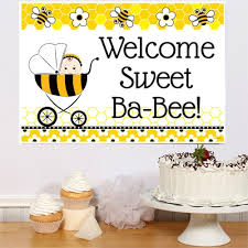 to bee baby shower bee baby shower party poster