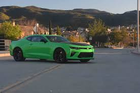 green camaro ss 2017 chevrolet camaro ss 1le one week review automobile magazine