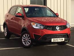 ssangyong korando 2013 used cars luton second hand cars bedfordshire ssangyong gb