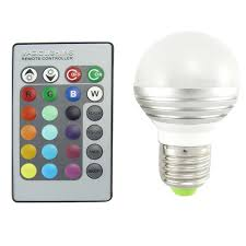 Changing Color Light Bulbs Led Color Changing Light Bulb 16 Colors Remote 3 W Tcl G55