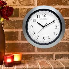 Wall Clocks Canada Home Decor by Amazon Com La Crosse Technology Wt 3102s 10 Inch Atomic Analog
