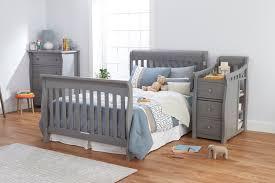 Sorelle Princeton 4 In 1 Convertible Crib by Sorelle Princeton Elite Full Size Rails Weathered Gray 228 Wg