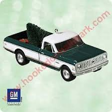 Ornaments For Trucks 2003 All American Truck Chevrolet Cheyenne Hallmark Ornament