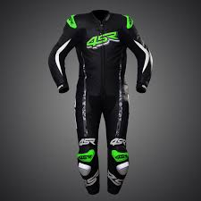 motorcycle racing leathers 4sr one piece suit racing monster green leathersuit leathers