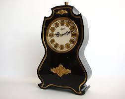 mechanical desk clock mechanical clock etsy