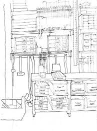 tool storage area sketch by gary cruce