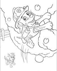 paw patrol coloring pages healthychild net